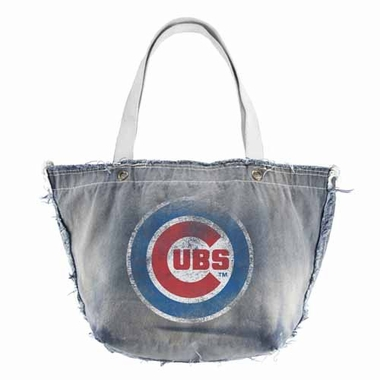 Chicago Cubs Vintage Tote (Denim)