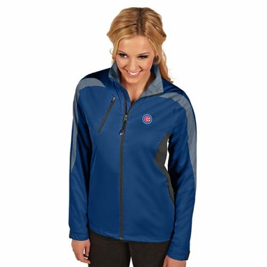 Chicago Cubs Womens Discover Jacket (Color: Blue)