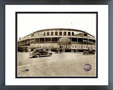 Chicago Cubs Wrigley Field 16x20 Framed and Double-Matted Photo
