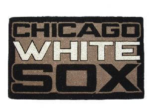 Chicago White Sox 18x30 Bleached Welcome Mat