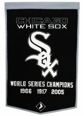 "Chicago White Sox 24""x36"" Dynasty Wool Banner"