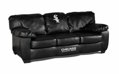 Chicago White Sox Leather Classic Sofa