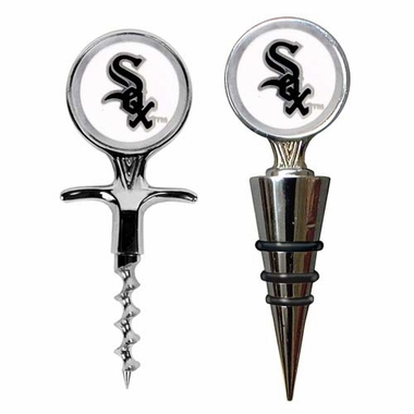 Chicago White Sox Corkscrew and Stopper Gift Set