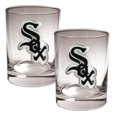 Chicago White Sox Double Rocks Set