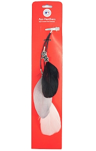 Chicago White Sox Team Color Feather Hair Clip