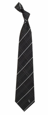 Chicago White Sox Oxford Stripe Woven Silk Necktie