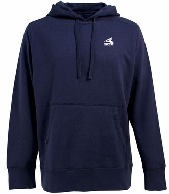 Chicago White Sox Mens Signature Hooded Sweatshirt (Cooperstown) (Color: Navy)