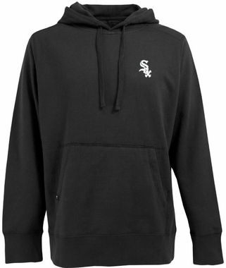Chicago White Sox Mens Signature Hooded Sweatshirt (Color: Black)