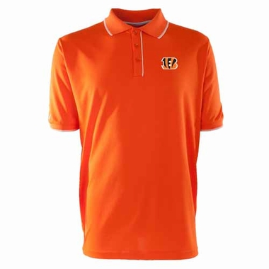 Cincinnati Bengals Mens Elite Polo Shirt (Color: Orange)