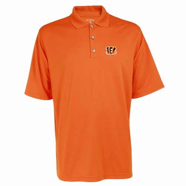 Cincinnati Bengals Mens Exceed Polo (Color: Orange)
