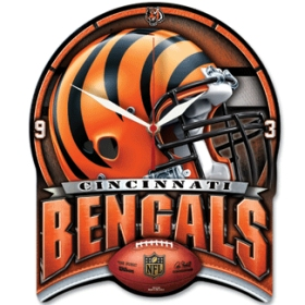Cincinnati Bengals High Definition Wall Clock