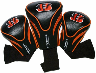 Cincinnati Bengals Set of Three Contour Headcovers