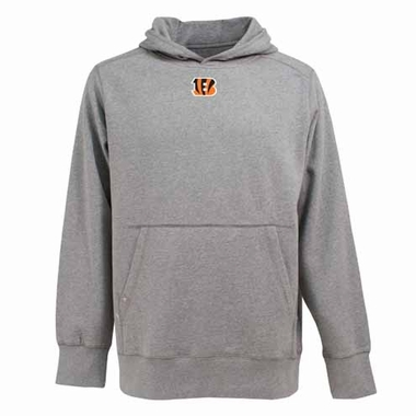Cincinnati Bengals Mens Signature Hooded Sweatshirt (Color: Gray)