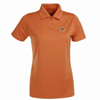 Cincinnati Bengals Womens Exceed Polo (Color: Orange)