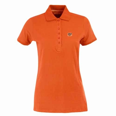 Cincinnati Bengals Womens Spark Polo (Color: Orange)