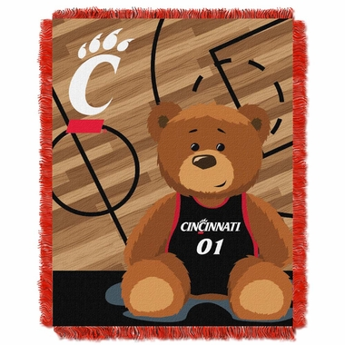 Cincinnati Jacquard BABY Throw Blanket