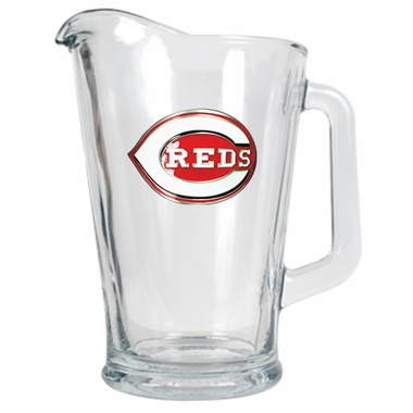 Cincinnati Reds 60 oz Glass Pitcher