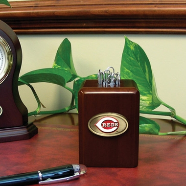 Cincinnati Reds Paper Clip Holder
