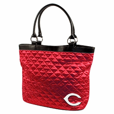 Cincinnati Reds Quilted Tote