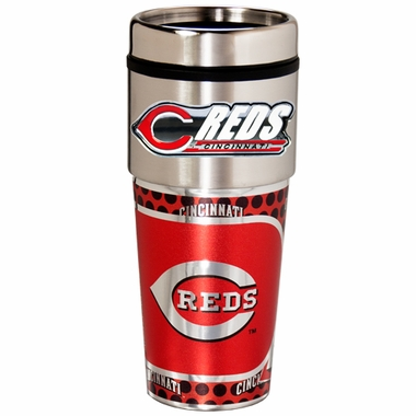 Cincinnati Reds Travel Tumbler with Hi-Def Graphics