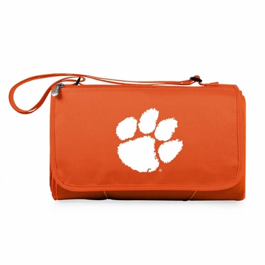 Clemson Blanket Tote (Orange)