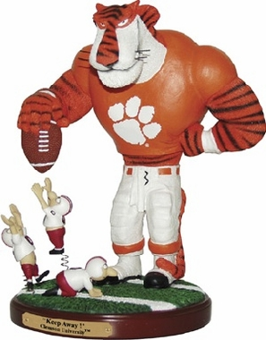 Clemson Keepaway Rivalry Statue