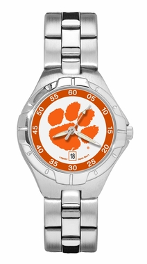 Clemson Pro II Women's Stainless Steel Watch