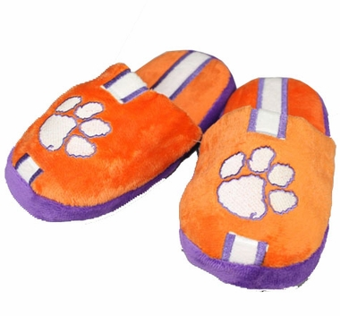 Clemson YOUTH Team Stripe Slide Slippers