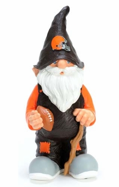 "Cleveland Browns Garden Gnome - 11"" Male"