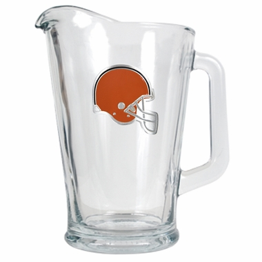 Cleveland Browns 60 oz Glass Pitcher