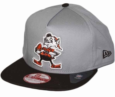 Cleveland Browns 9FIFTY Throwback A-Tone Snapback Hat