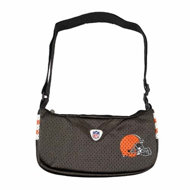 Cleveland Browns Jersey Material Purse
