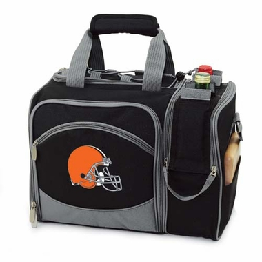 Cleveland Browns Malibu Picnic Cooler (Black)