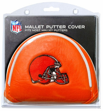 Cleveland Browns Mallet Putter Cover