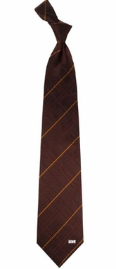 Cleveland Browns Oxford Stripe Woven Silk Necktie