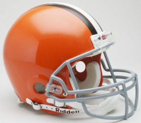 Cleveland Browns 2006-14 Throwback Pro Line Helmet