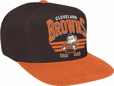 Cleveland Browns Stadium Throwback Snapback Hat