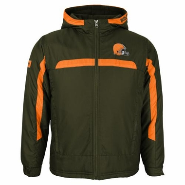 Cleveland Browns YOUTH NFL Midweight Hooded Jacket