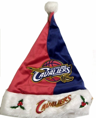 Cleveland Cavaliers 09 Santa Hat
