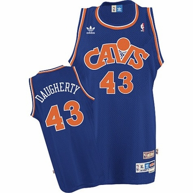 Cleveland Cavaliers Brad Daugherty Adidas Team Color Throwback Replica Premiere Jersey