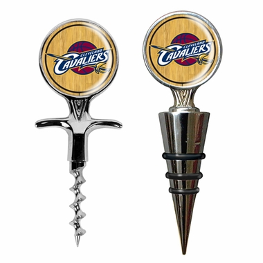 Cleveland Cavaliers Corkscrew and Stopper Gift Set