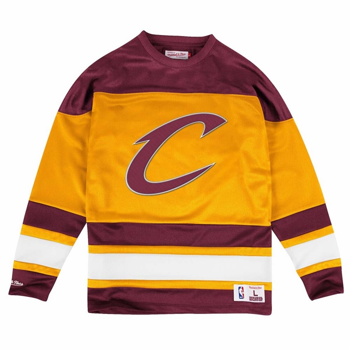 cleveland cavaliers mitchell ness mesh jersey long. Black Bedroom Furniture Sets. Home Design Ideas
