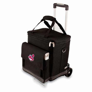 Cleveland Indians Cellar w/ Trolley (Black)