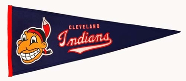 Cleveland Indians Cooperstown Wool Pennant