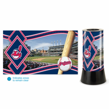 Cleveland Indians Rotating Lamp