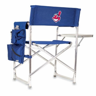 Cleveland Indians Sports Chair (Navy)