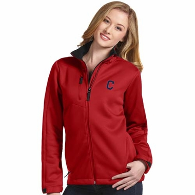 Cleveland Indians Womens Traverse Jacket (Color: Red)