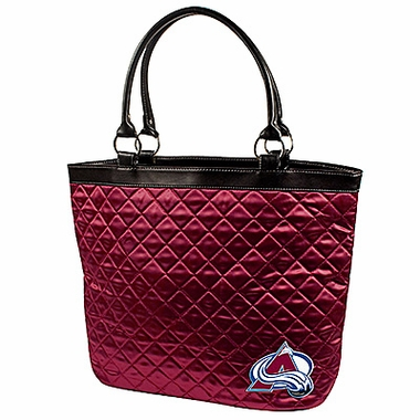 Colorado Avalanche Quilted Tote