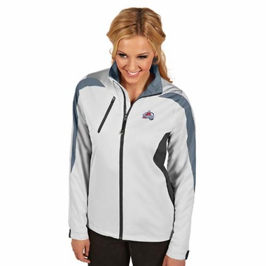 Colorado Avalanche Womens Discover Jacket (Color: White)
