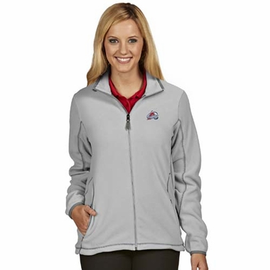 Colorado Avalanche Womens Ice Polar Fleece Jacket (Color: Gray)